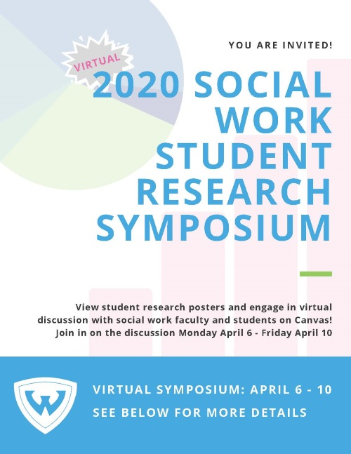 Student Research Symposium Flyer
