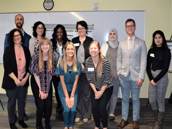 2019 Social Work Student Research Symposium group photo
